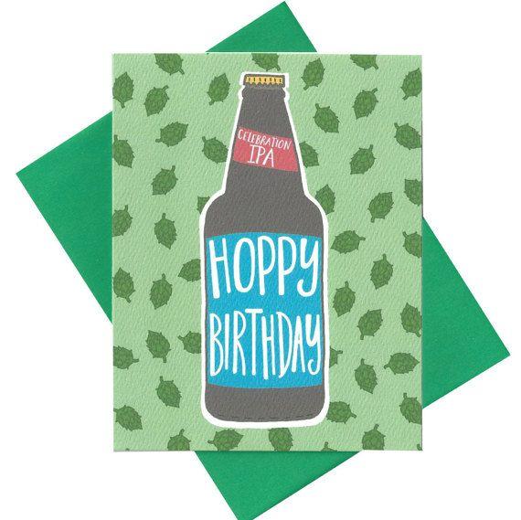 Hoppy birthday card haha pinterest cards diy cards and hoppy birthday card bookmarktalkfo Images