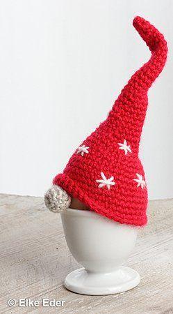 Eierwärmer häkeln / Wichtel mit tollen Mützen #crochetturtles