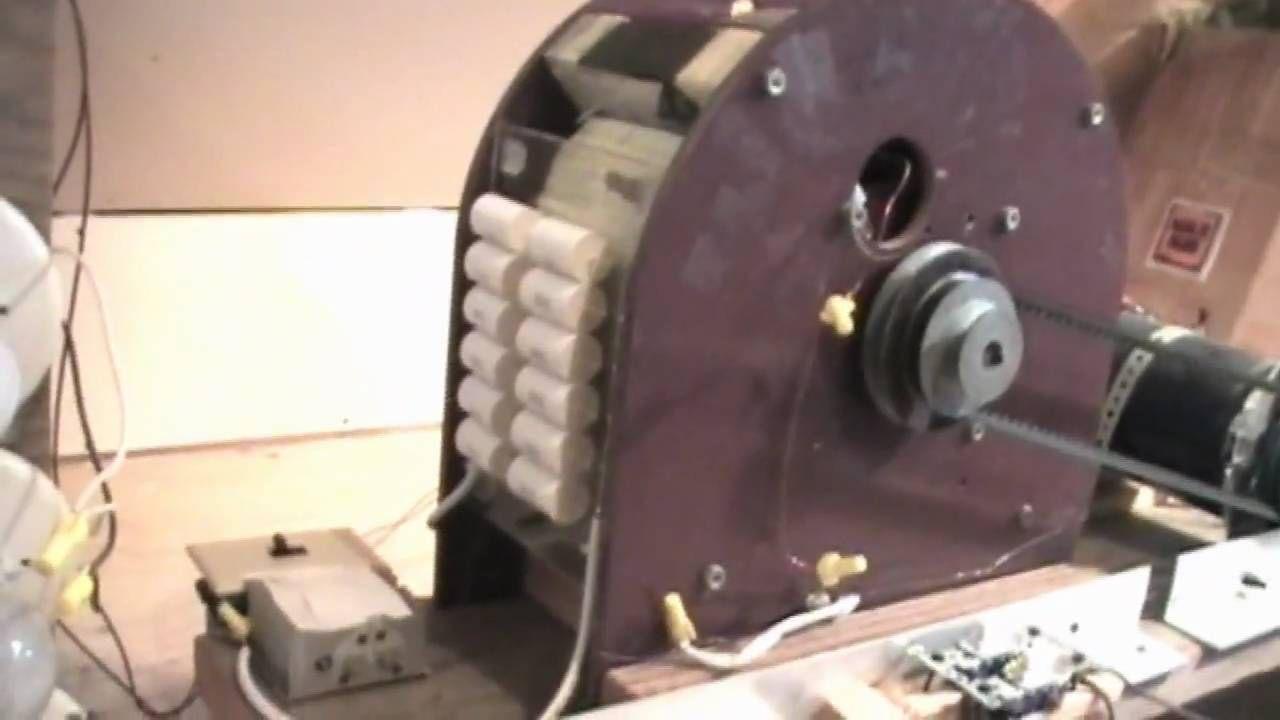 Wittsws Self Running 40kw 40000 Watt Fuelless Generator 1 Alternating Current Diagram Besides Bedini Motor Of 3