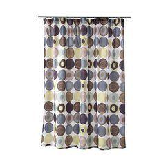 Dot Swirl Shower Curtain   70x72