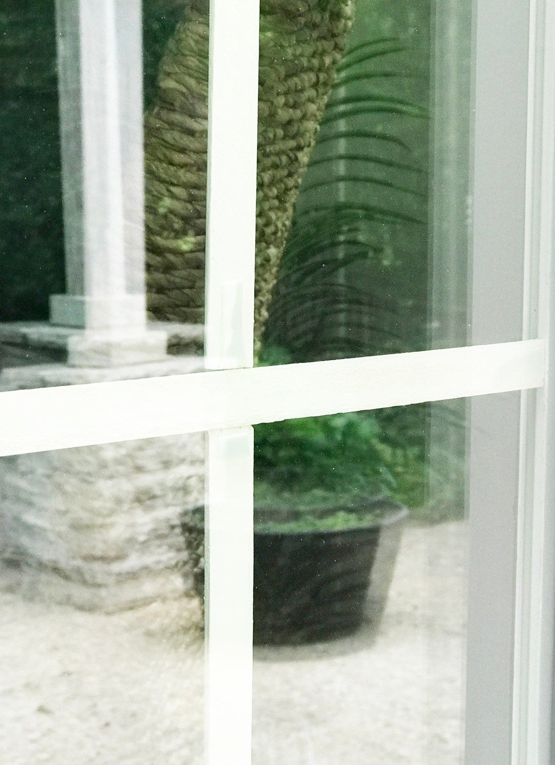 Updated Making Your Own Window Grids Grilles Mullions The Rozy Home Window Grids Farmhouse Windows Diy Window