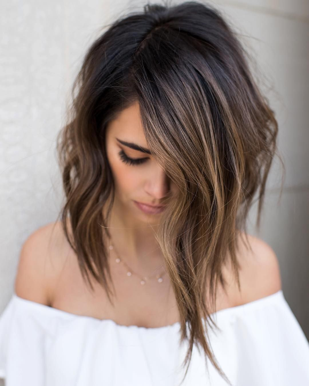 ombre balayage hairstyles for medium length hair hair color