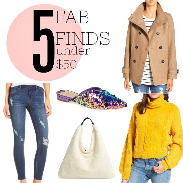 Fab Finds Under 50: 5 Fab Finds Under $50 - Pieces Of A Mom