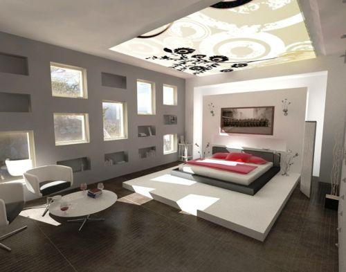 Farbgestaltung Fürs Jugendzimmer U2013 100 Deko  Und Einrichtungsideen   Schlafzimmer  Beleuchtung Tageslicht Bett Teenage Indirekte