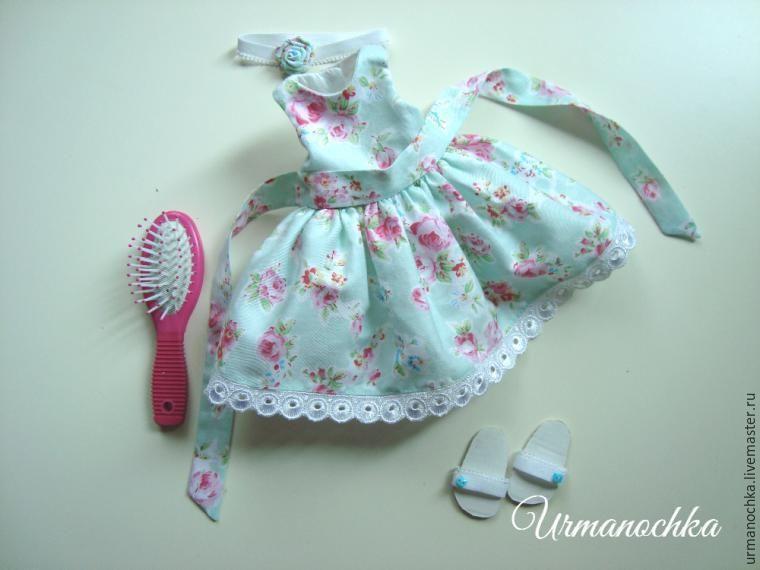 Подробный мастер-класс  шьем очаровательное платье для куклы - Ярмарка  Мастеров - ручная работа, handmade 8e31d22b315