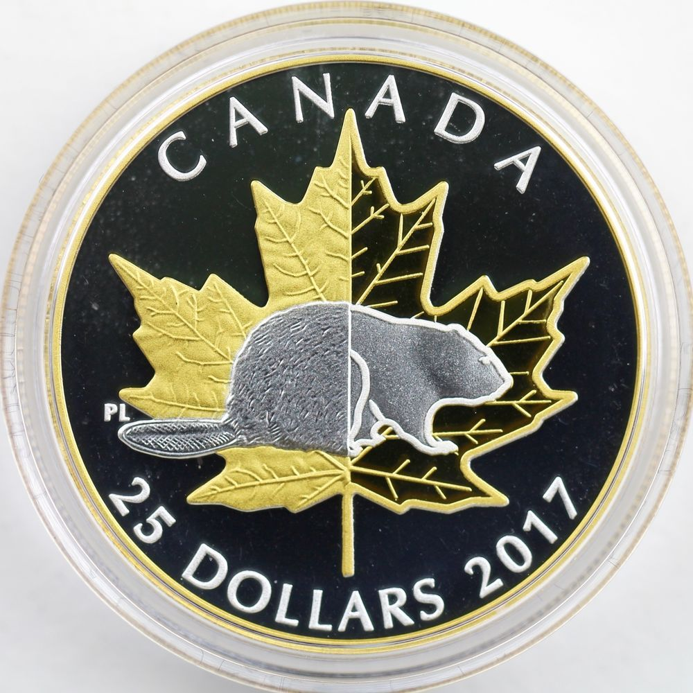 Details About Canada 2017 The Silver Maple Leaf 1 25 Oz