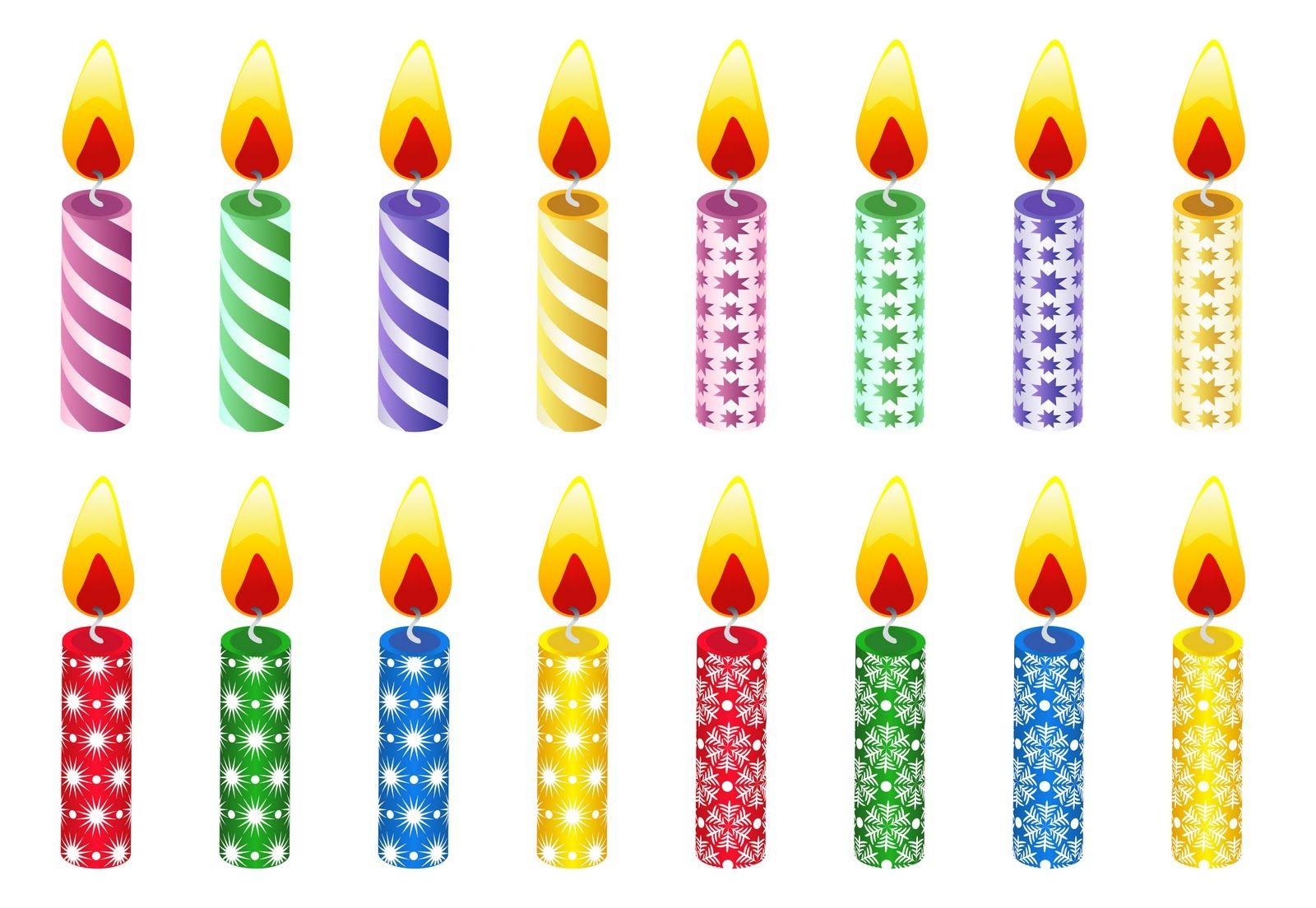 pastel para imprimir dibujos de velas de cumpleanos para imprimir ...