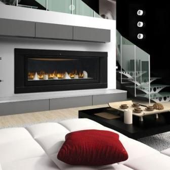 Napoleon Lhd50 Direct Vent Linear Fireplace Candles