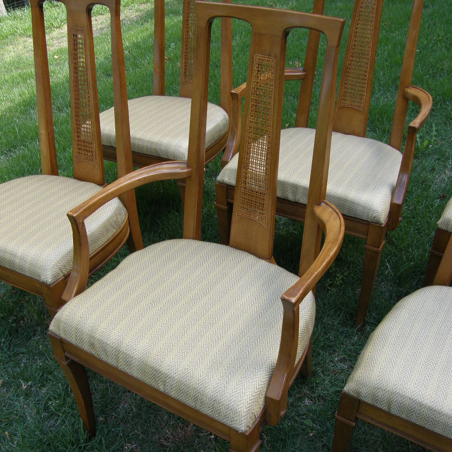 Asian Modern Mahogany Drexel Triune Dining Chairs Midcentury Chinoiserie Set Of 6 500 00 Via Etsy Asian Furniture Furniture Dining Chairs