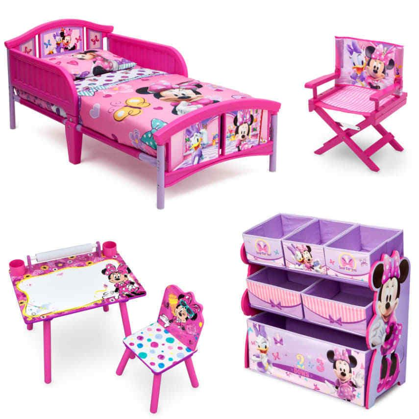 Best Disney Minnie Mouse Room In A Box With Bonus Chair Disney 640 x 480