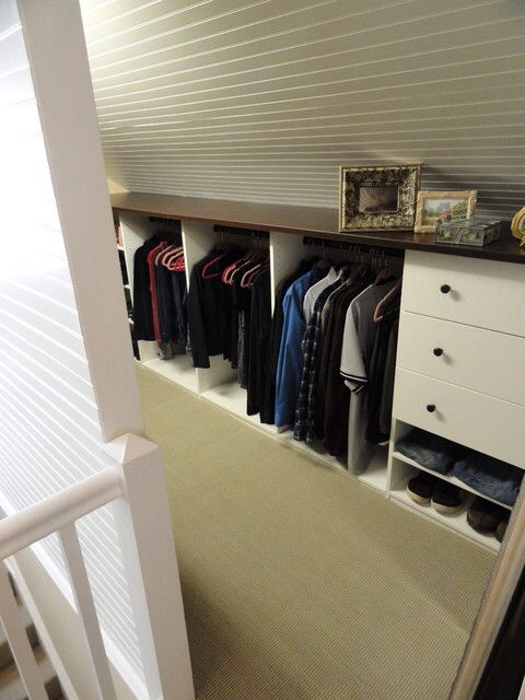 New Storage Space Behind Both Walls Of Playroom Intersperse