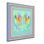 Hearts All At Sea Duo Framed small Canvas Print  Hearts All At Sea Duo Framed small Canvas Print  $96.25  by JuliaWoodmanDesign  . More Designs http://bit.ly/2hyOutM #zazzle
