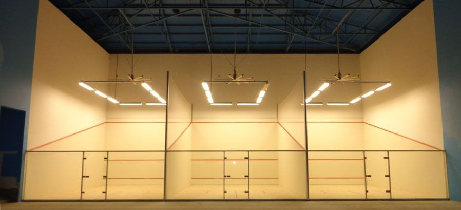 for Cost to build a racquetball court