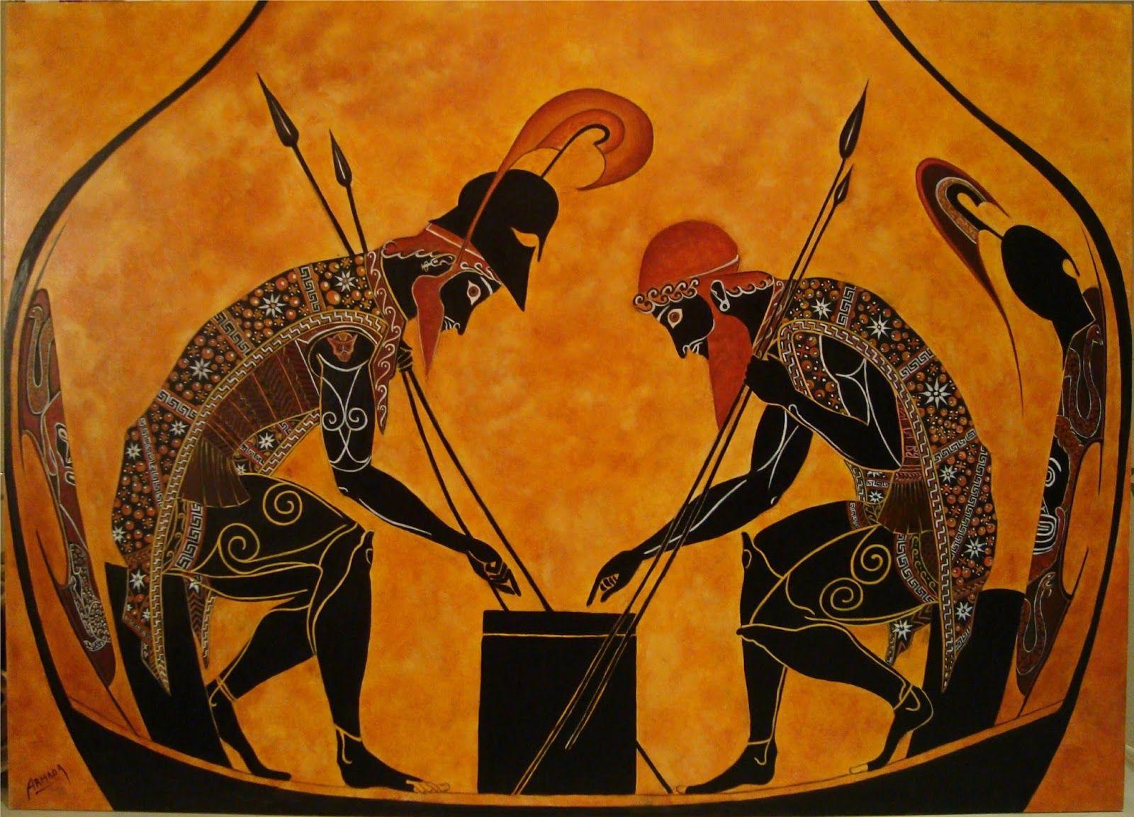 arte griego pintura - Buscar con Google