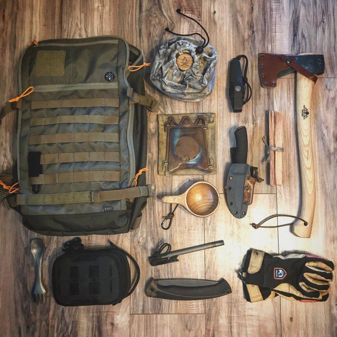 Midweek Jaunt Loadout Survival Bushcraft Bushcraft Gear