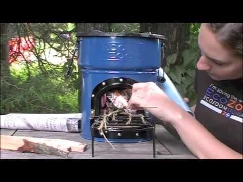 The EcoZoom Dura Rocket Stove: Uses Free Biomass as Fuel 로켓스토브 - 솥치마
