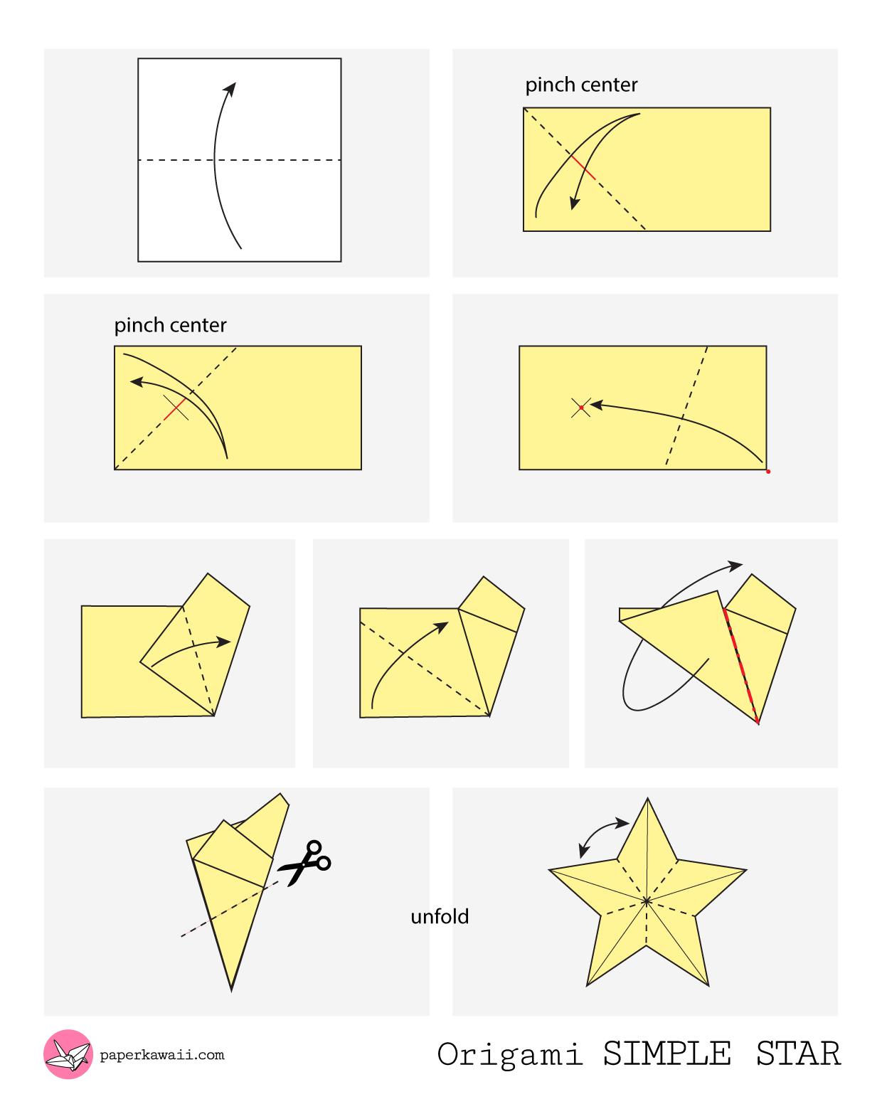 Origami Beginners Diagrams House Wiring Diagram Symbols