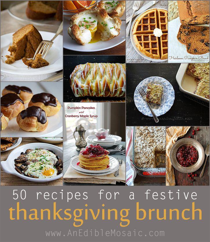 50 Recipes For A Festive Thanksgiving Brunch