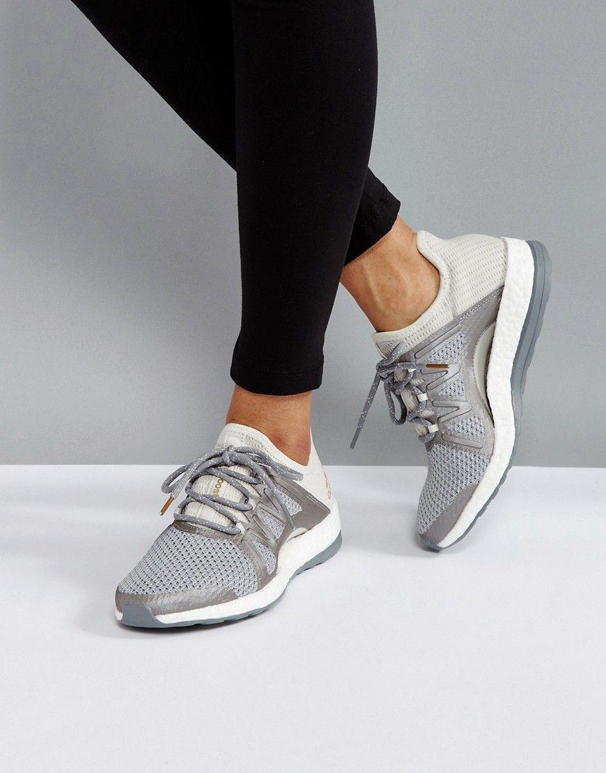 0cd11e2699130 Haz clic para ver los detalles. Envíos gratis a toda España. Zapatillas de  deporte grises Training Pureboost Xpose de adidas  Zapatillas de deporte de  ...