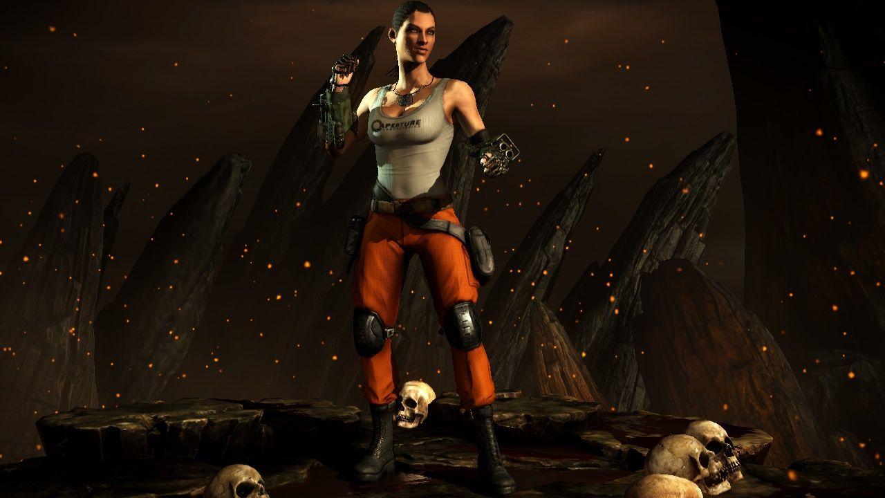 Portal mod for Jacqui Briggs, Mortal Kombat X (NetherRealm/WB/High Voltage)
