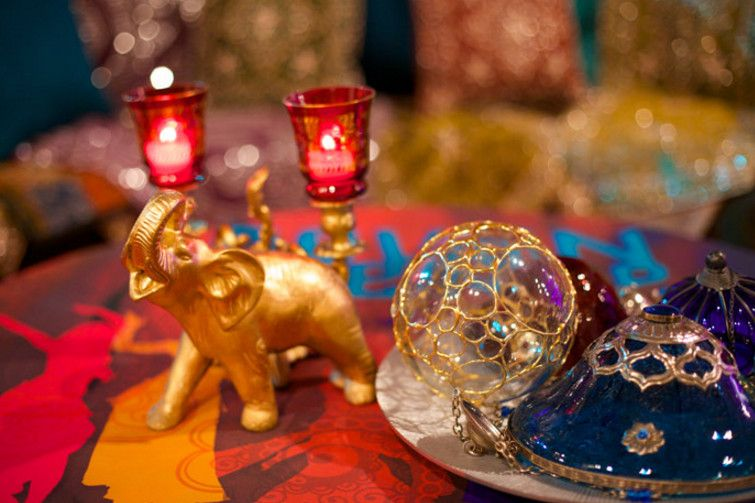 Theme Ideas For Dinner Parties Part - 45: Indian Themed Dinner Party Decorations