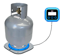 The Gas Smart 9Kg Intelligent Gas Bottle Monitor will give you an accurate reading of how much WEIGHT you have left in Kgs and Lbs and   how much Time you have left to use your gas bottle.     Visit website at   www.gassmart.com.au/specials   for terms and conditions