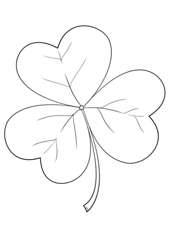irish shamrock coloring page from ireland category select from 26204 printable crafts of