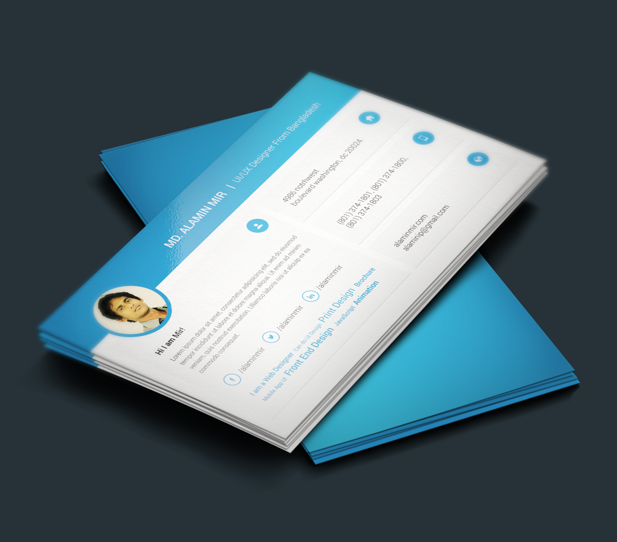 resume Resume Business Cards pin by workolio online on creative resumes pinterest template todays featured freebie at ultraupdates is a perfect resume design along with business card for web and graphic designers this