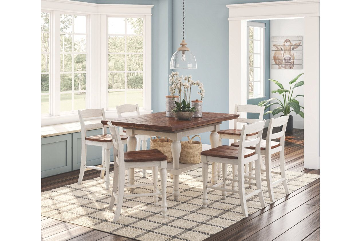Marsilona Counter Height Dining Room Table Ashley Furniture Homestore Counter Height Dining Room Tables Dining
