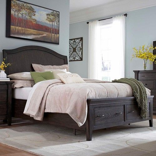 Attic Retreat King Sleigh Storage Bed By Broyhill Furniture At Becker Furniture World Broyhill Furniture Broyhill Bedroom Furniture Bedroom Furniture Sets