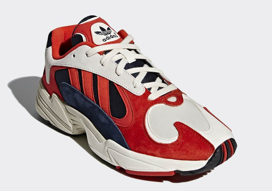 finest selection 2dc0e 79a56 First Look At The adidas YUNG-1 Hi-Res Orange