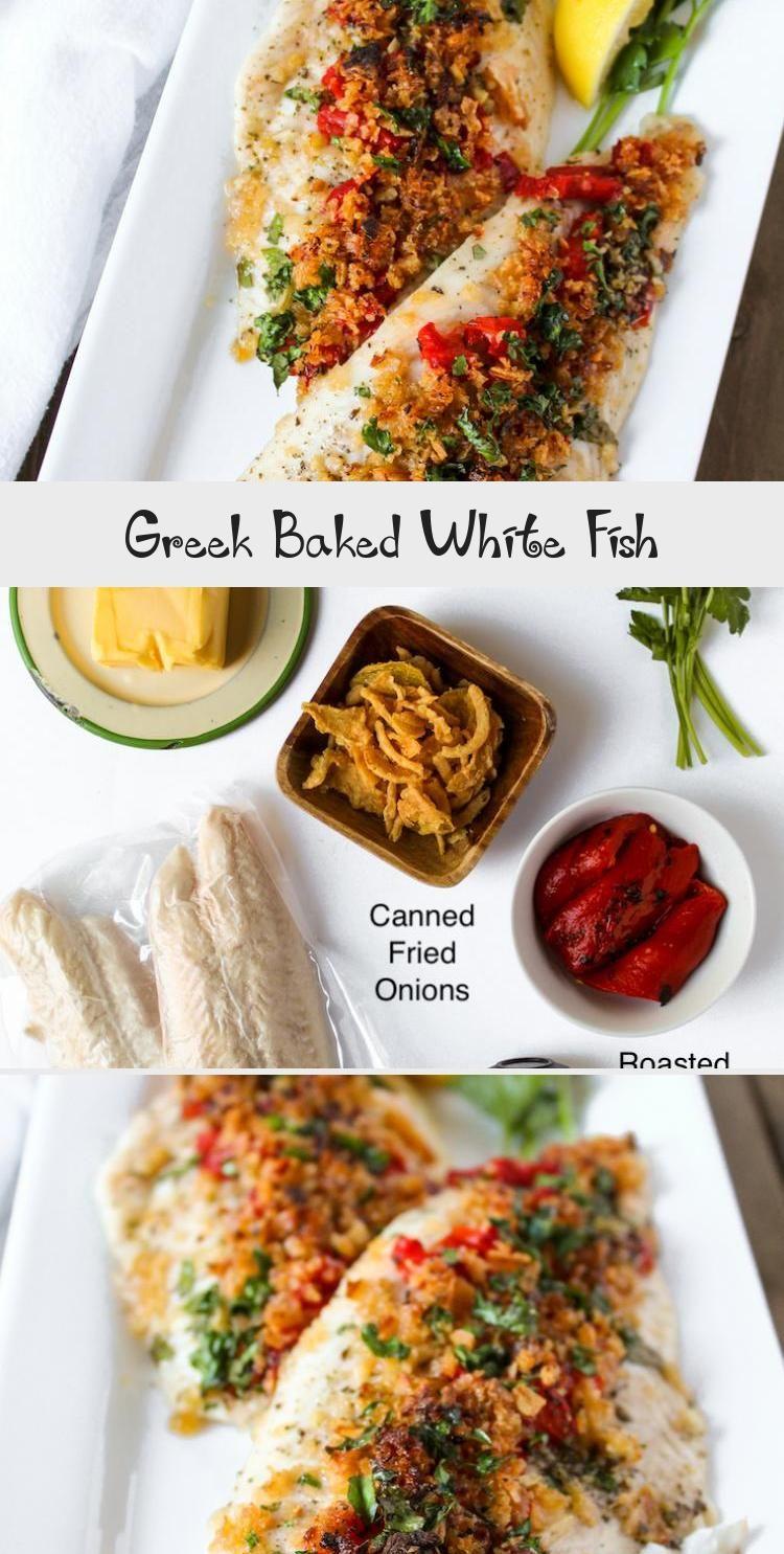 Greek Baked White Fish, 2020   Balık tarifleri, Gıda, Yeme ...