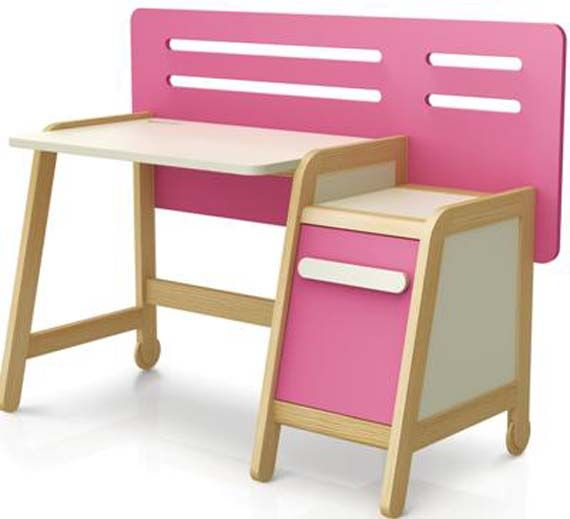 Kids Study Desk Design Ideas