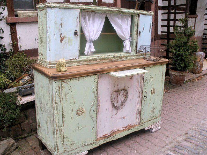 Küchenbuffet Shabby ~ Werken & bauen diy anleitungen vintage furniture and shabby