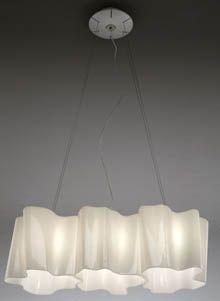 Artemide Logico Triple Linear Suspension Light L S Furniture