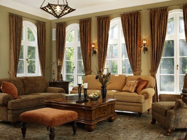Living Room Curtain Ideas For Large Window