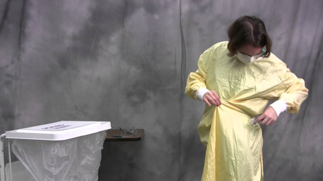 Hospital PPE - Standard Precautions: Donning and Doffing ...