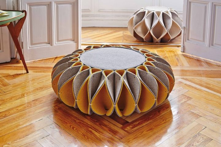 RUFF POUF By Romero Vallejo For GAN » Retail Design Blog