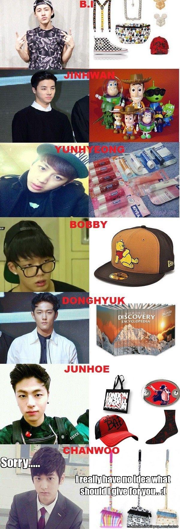 Christmas gifts for iKON allkpop Meme Center Ikon