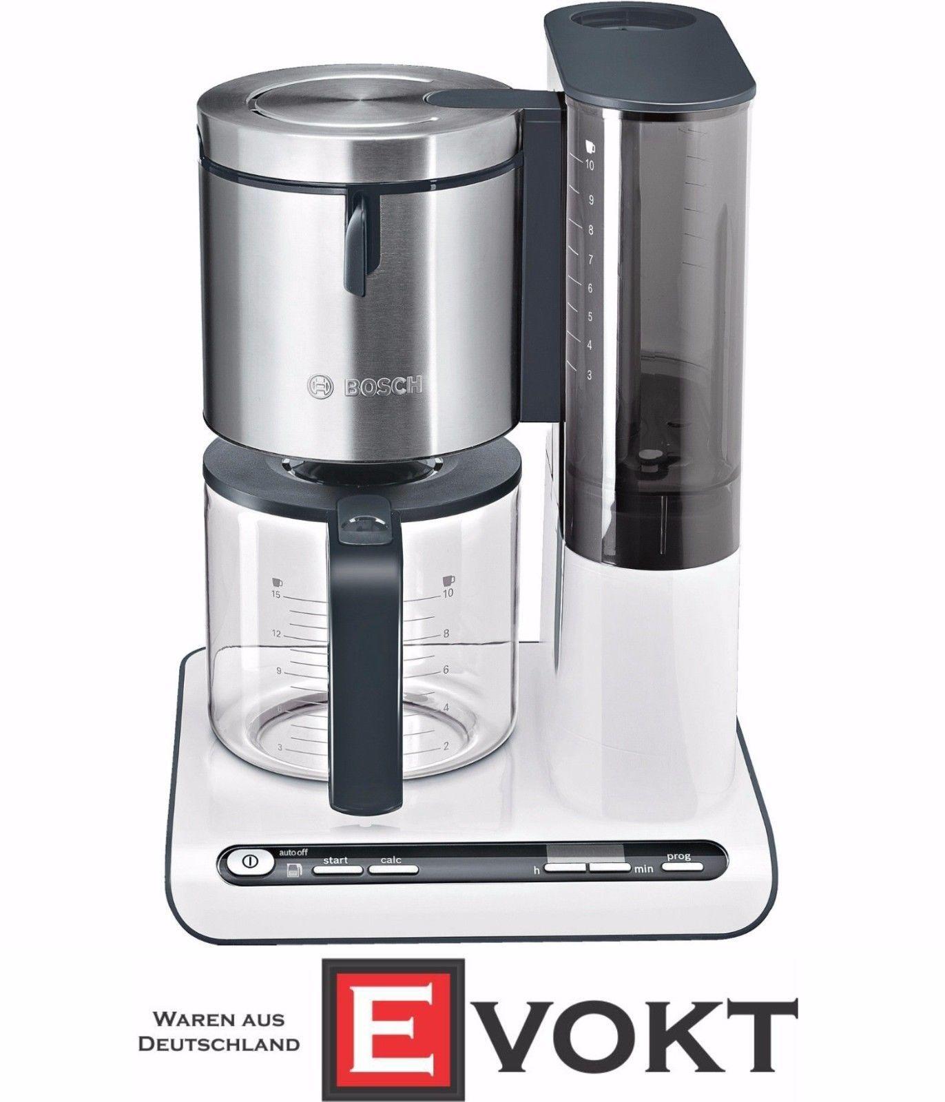 Bosch Tka8631 Filter Coffee Machine 10/15 Cups Glass Jug