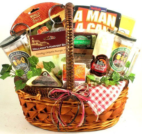 77d7630431fb6 He s a Grill Master! Gourmet Mens Grilling Gift Basket (BBQ and Grilling  Gift Basket) ...