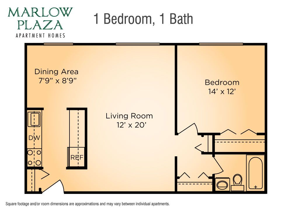 Marlow Plaza Tower Apartments Floor Plans Apartment Floor Plan Floor Plans How To Plan