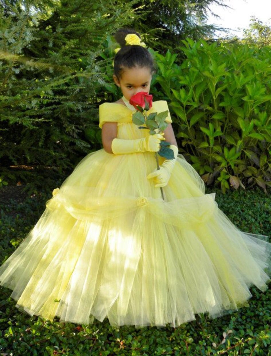 Yellow dress like belle  Pin by Alisha Wyche on Clothes  Pinterest  Tutu and Cosplay