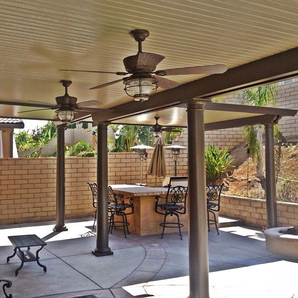 DIY Alumawood Patio Cover Kits, Shipped Nationwide | Solid Photo Gallery - Patio Warehouse - Orange, CA, United States. Elitewood Patio Cover