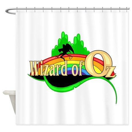 The Wizard Of Oz Shower Curtain The Wizardofoz Graphic Art