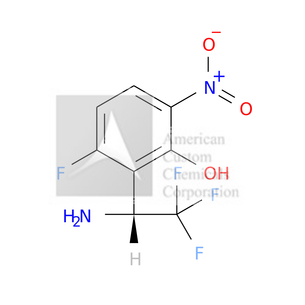 2-((1R)-1-AMINO-2,2,2-TRIFLUOROETHYL)-3-FLUORO-6-NITROPHENOL is now  available at ACC Corporation