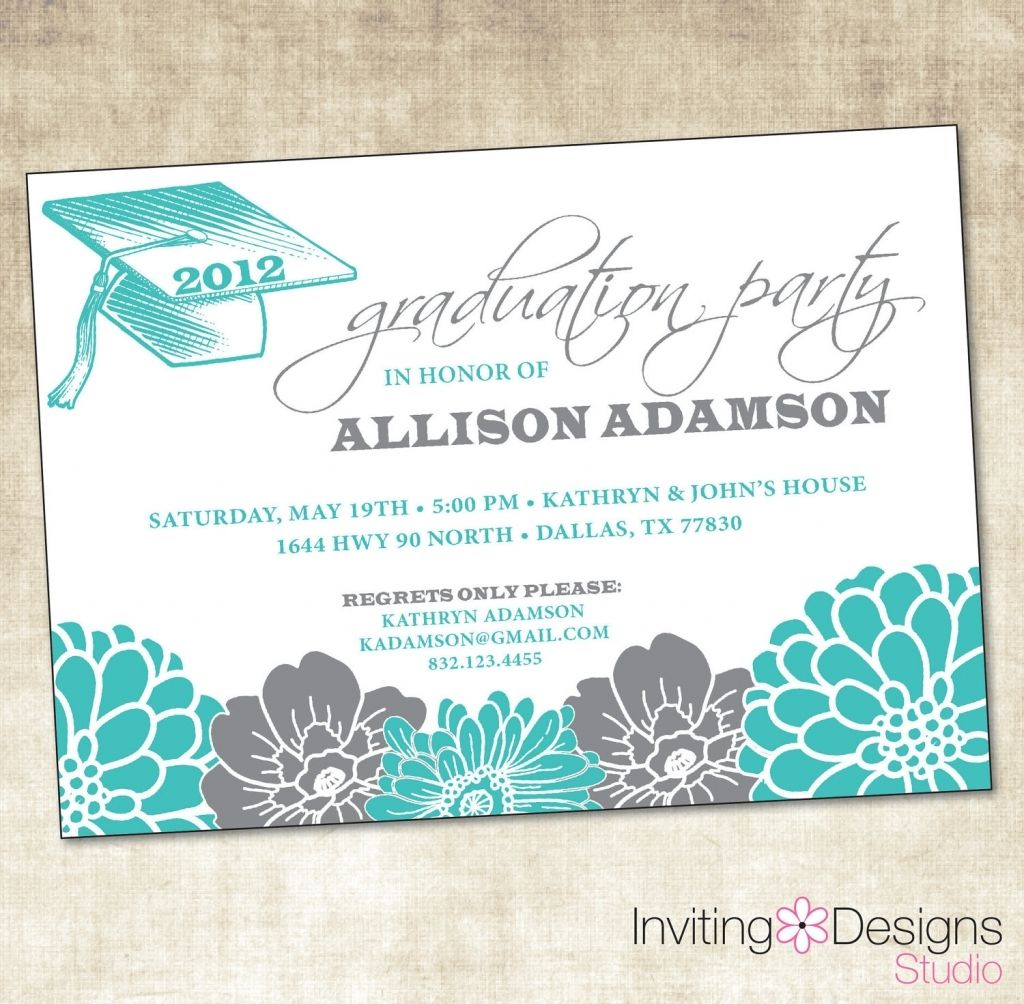 graduation party invitation messages | Invitations Ideas ...