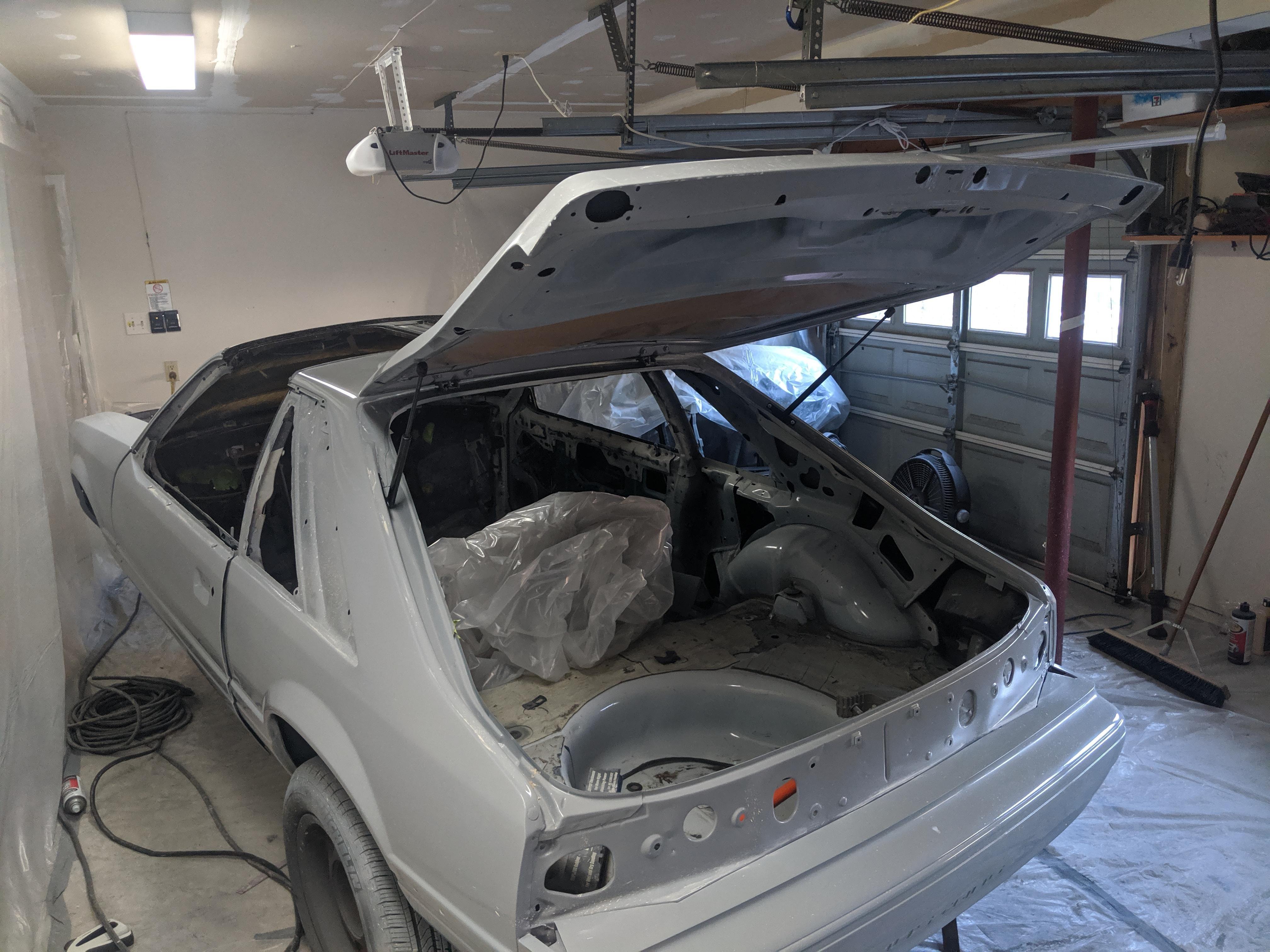 Mustang Hatchback Lift Support Bracket Kit 83 93 Mustang Hatchback Mustang Hatchback