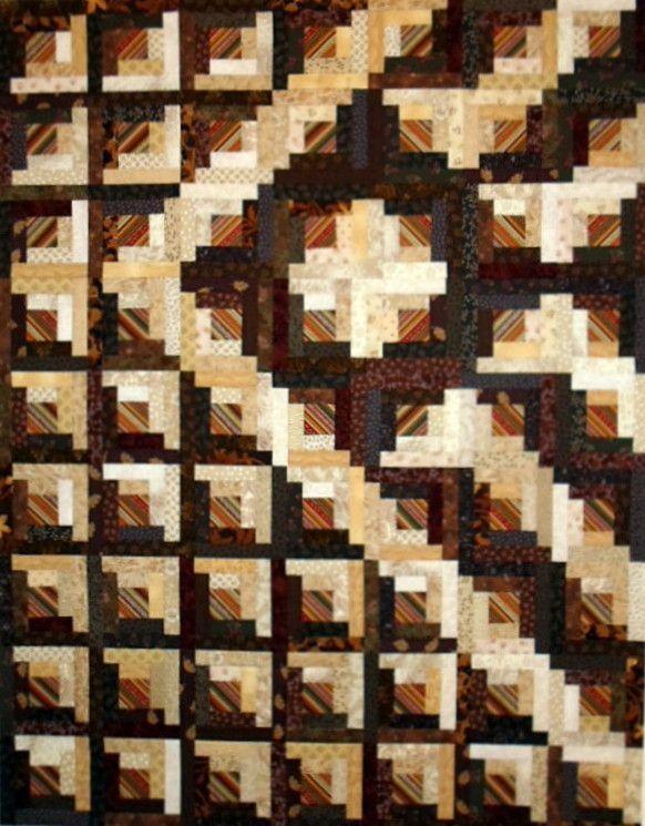 Image Result For Curved Log Cabin Quilt Pattern Free Log Cabin Quilt Pattern Log Cabin Quilts Log Cabin Quilt
