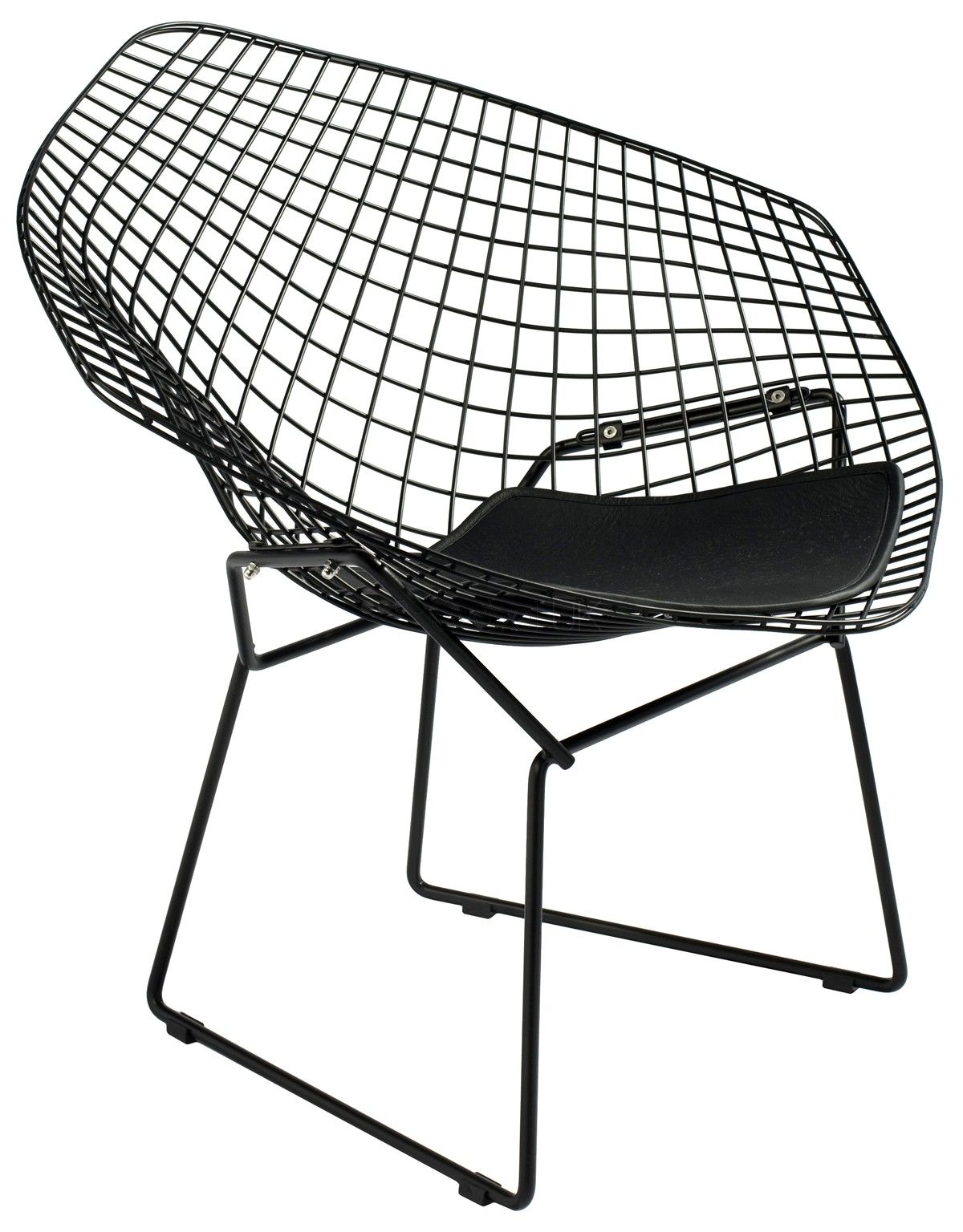 Harry bertoia coloured diamond lounge chair swiveluk